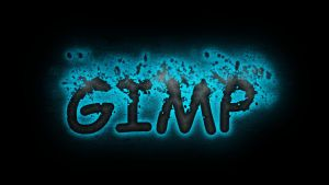 gimp splash text by hanciong