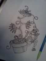 Venus Fly Trap by melissaanne93