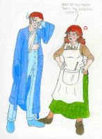 HP: Weasleys: Arthur and Molly by Saphari