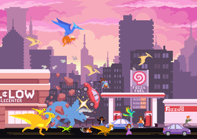 Dino Run 2: Modern Day by dinorun2