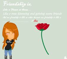 Friendship Contest by UnTaMeD-rOsE