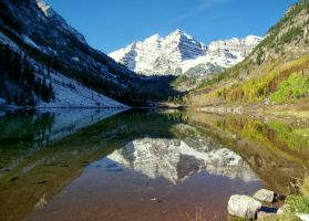 Maroon Bells by TheSleepyRabbit