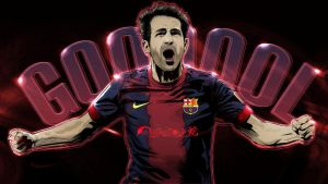 CESC FABREGAS VECTOR WALLPAPER by akyanyme