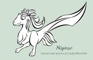 Niptor - Free line base by ladyofthewilds