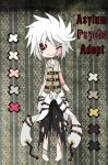Adopt: Asylum Psycho {CLOSED} by Lidfox