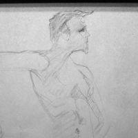 8 minutes with Dave #art #lifedrawing by SylvanCreatures