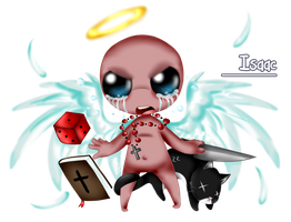 TBoI - The Fighter by EchidnaGirlXD