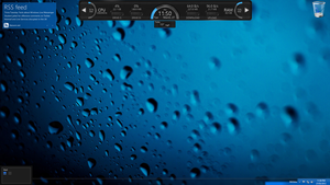Windows 8 Desktop Blue Onyx by WarrenClyde