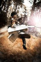 SnK Eren Jaeger - RUN AWAY by Hikari-Kanda