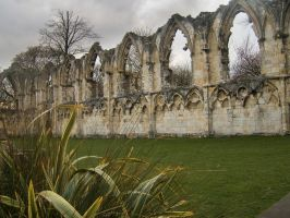 HDR stock St Mary's Abbey 2 by ED-resources