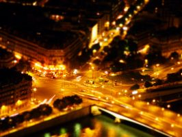 paris at night by dozy-de