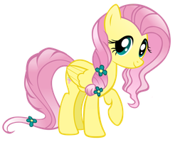 Fluttershy Png Vector by PandaPitufi