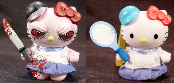 ROT TOT -HelloKitty- Ooak Kill by Undead-Art