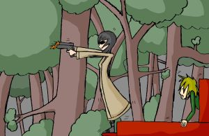 Forest Shootout by Chelseam2
