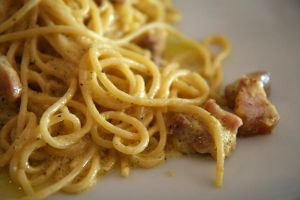 Spaghetti carbonara by patchow