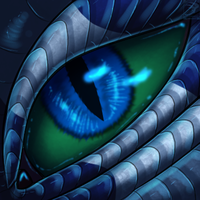 Eye-Con Comish - Sapphire and Emerald by TwilightSaint