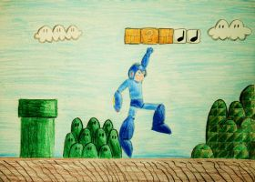 Mega Man: Wrong Game by Chihiproth