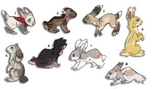 Rabbit adoptables | OTA | CLOSED by DaisiesAdopts