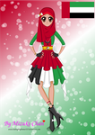 CONTEST ENTRY Magical Girl of United Arab Emirates by MidnightGlimmer225