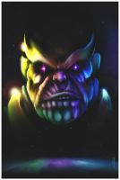 Thanos de Titan by gerky-art