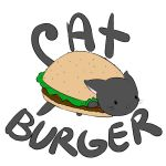 Cat burger by Anjidu