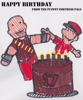 Happy birthday from the PFP by StrongBrush1