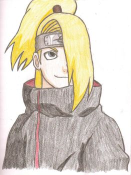 Deidara by AnimePortraits