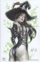 Wicked Witch OZ Zenescope by Elias-Chatzoudis