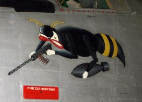 nose art b24L  liberator by Sceptre63