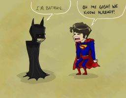 Im Batman by toadinajellyjar