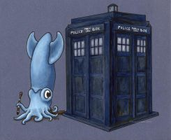 Dr. Who Squid by MegLyman