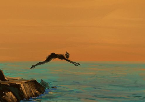 Diver by LuckyFK