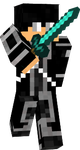Sword Art Online: Kirito(Outfit 2) Minecraft by Acxelion