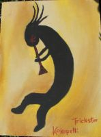 Kokopelli the Trickster by Capitaine-Jaf