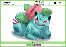 2 Ivysaur by gillpanda