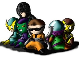 Doll-dly Foes of Spider-Man by ShadetheMystic