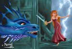 GISELLE Vs DRAGON by FERNL
