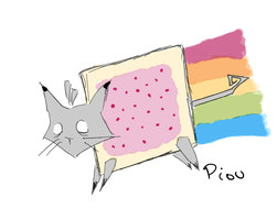 My Version Of Nyan Cat by Piou-plume