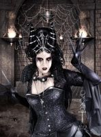 Spider Queen by vampirekingdom