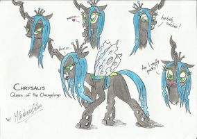 Queen Chrysalis by ShiroMinakazu
