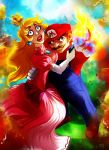 CC: Mario and Peach by MistyTang
