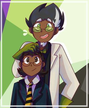 Fitz and Iggy by aronora