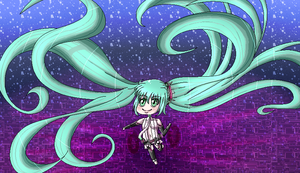 Miku chibi append by TheULTImateAngel