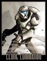 Star Wars: Clone Commando by RevDenton