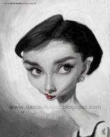 Audrey Hepburn by David-Duque