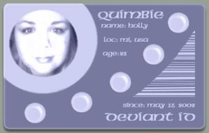 Quimbie ID by quimbie