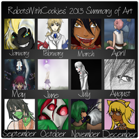 RWC's 2013 Summary of Art by RobotsWithCookies