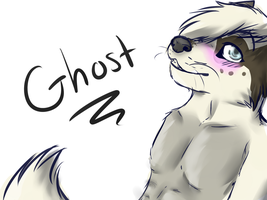 Ghost anthro sketch by 50-Shades-Of-Gay