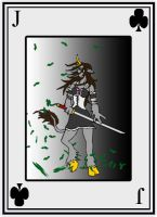 Jack of Clubs by cheddarpaladin