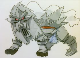 Alphonse Entei by AlPendragon